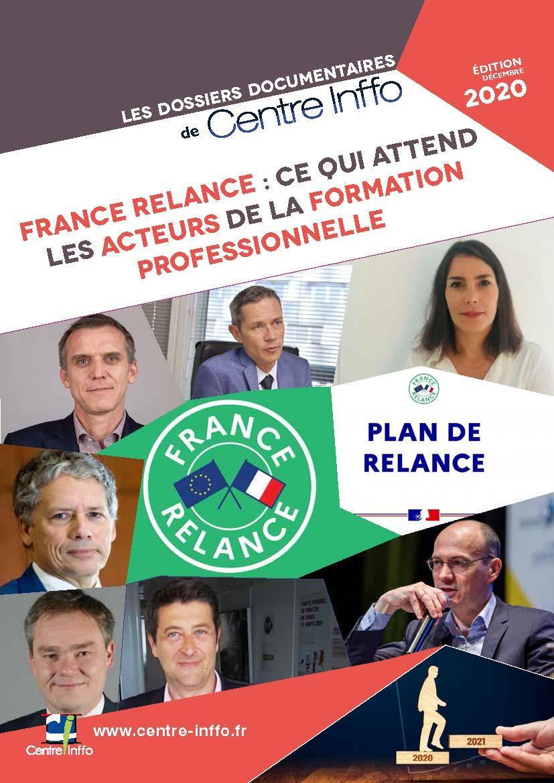France Relance : ce qui attend les acteurs de la formation professionnelle - Edition décembre 2020