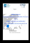 Référencement du cadre national de certification français vers le cadre européen de certification pour la formation tout au long de la vie : rapport