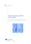 Rapport politique de FEP France 2008