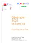 Génération 2001 en Lorraine