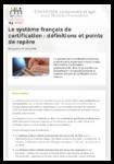Le système français de certification