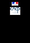 Commission nationale de la certification professionnelle - Rapport au Premier ministre 2014