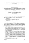 Accord du 21 décembre 2004 relatif à la création de certificats de qualification professionnelle d'inséminateur qualifié et d'inséminateur spécialisé dans la cadre d'un contrat de professionnalisation