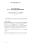 Dénonciation par lettre du 30 septembre 2010 par la CSCA de l'accord du 14 novembre 2002