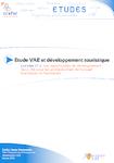 Etude VAE et développement touristique - Tome 2