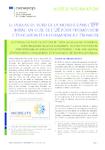 Le tableau de bord de la mobilité dans l'EFP initial