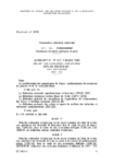 Avenant n° 59 du 5 mars 2007 relatif aux cotisations forfaitaires (OPCAD DISTRIFAF)