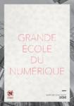 Grande Ecole du Numérique - Rapport d'activité 2016 - application/pdf