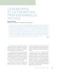 L'entreprise et la formation professionnelle initiale - application/pdf