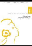 Annexe au projet de loi de finances pour 2018 : formation professionnelle - application/pdf