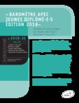 Baromètre Apec Jeunes diplômé.e.s Edition 2018 - application/pdf