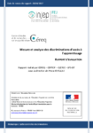 Apprentissage et discriminations - application/pdf