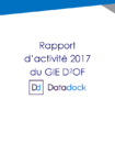 Rapport d'activité 2017 du GIE D²OF - application/pdf