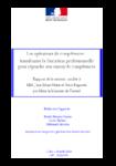 Rapport Marx/Bagorski - Les opérateurs de compétences - application/pdf