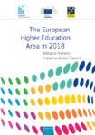 The European Higher Education Area in 2018 : Bologna Process Implementation Report