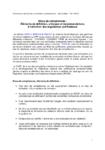 Blocs de compétences : éléments de définition, principes et recommandations à l'attention des organismes certificateurs