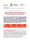 Utilisation des outils numriques - Communiqu de presse - application/pdf