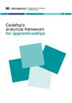 Cedefop's analytical framework for apprenticeships