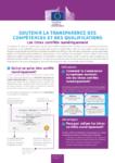 Soutenir la transparence des compétences et des qualifications - Les titres certifiés numériquement