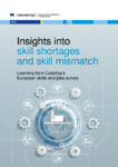 Insights into skill shortages and skill mismatch : learning from Cedefop's European skills and jobs survey
