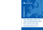 The changing nature and role of vocational education and training in Europe - Volume 6