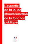 Présentation synthétique de la loi de transformation de la fonction publique - URL
