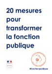20 mesures pour transformer la fonction publique - URL