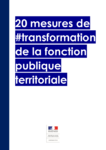 20 mesures de transformation de la fonction publique territoriale - URL