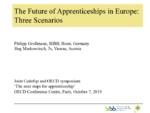 The Future of Apprenticeships in Europe : Three Scenarios