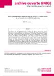 Motifs d'engagement et abandons dans les MOOCS