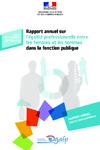 Rapport annuel sur l'égalité professionnelle entre les femmes et les hommes dans la fonction publique  - application/pdf