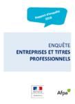Rapport d'enquête 2018 - Entreprises et titres professionnels