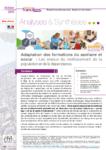 Synthèse : Adaptation des formations du sanitaire et social : les enjeux du vieillissement de la population et de la dépendance  - URL