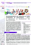 Synthèse : Enjeux et perspectives du développement des gérontechnologies - URL