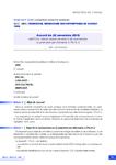 Accord du 22 novembre 2019 - application/pdf