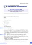 Accord du 22 novembre 2019 relatif à la mise en oeuvre des actions de reconversion ou promotion par alternance (« Pro-A »)