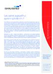 Les cadres aujourd'hui - Synthèse - application/pdf