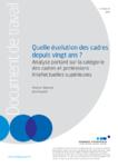 Quelle évolution des cadres depuis vingt ans ? Analyse portant sur la catégorie des cadres et professions intellectuelles supérieures