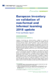 2018 European inventory on validation of non-formal and informal learning : final synthesis report ; Executive summary