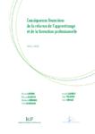 Conséquences financières de la réforme de l'apprentissage et de la formation professionnelle