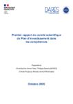 Premier rapport du comité scientifique du Plan d'investissement dans les compétences