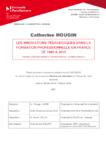 Les innovations pédagogiques dans la formation professionnelle en France de 1985 à 2015