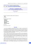Accord du 1er septembre 2020 relatif à l'activité partielle de longue durée (APLD)