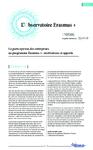 La participation des entreprises au programme Erasmus+ : motivations et apports