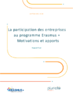 La participation des entreprises au programme Erasmus+ : motivations et apports : rapport final
