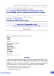 Accord du 18 septembre 2020 relatif au regroupement des champs conventionnels