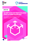 20 métiers en particulière évolution pour 2021
