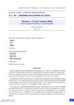 Avenant n° 71 du 7 octobre 2020 relatif au dispositif spécifique d'activité partielle