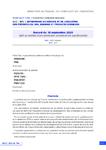 Accord du 10 septembre 2020 relatif au maintien d'une contribution conventionnelle supplémentaire