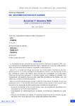 Accord du 1er décembre 2020 relatif à la formation et à l'alternance